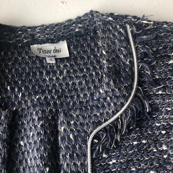 Jackets & Blazers - Beautiful Blue knitted blazer 4